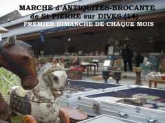 photo de Marché à la Brocante de St PIERRE sur DIVES 5 SEPTEMBRE