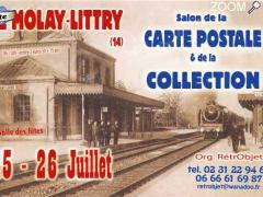 Foto 25 & 26 juillet -LE MOLAY LITTRY - 29ème salon de la CARTE POSTALE & de la COLLECTION