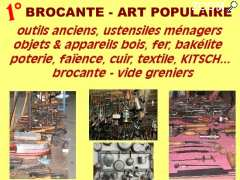 foto di brocante - art populaire - objets KITSCH