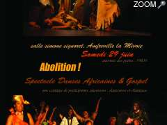 photo de spectacle ABOLITION ! danse africaine & gospel