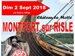 "photo de Médiévales de Montfort sur Risle ""Vikings et Normands"" le 2/09/2018"